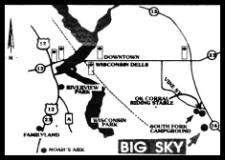 Big Sky Drive-In map